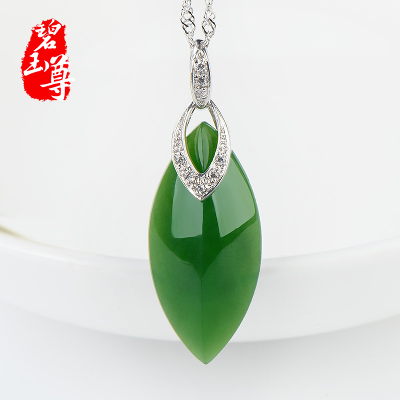 Jasper statue of natural jade and nephrite pendant female models 925 silver inlay and tianbi yu pendant drops a cargo jade pendant