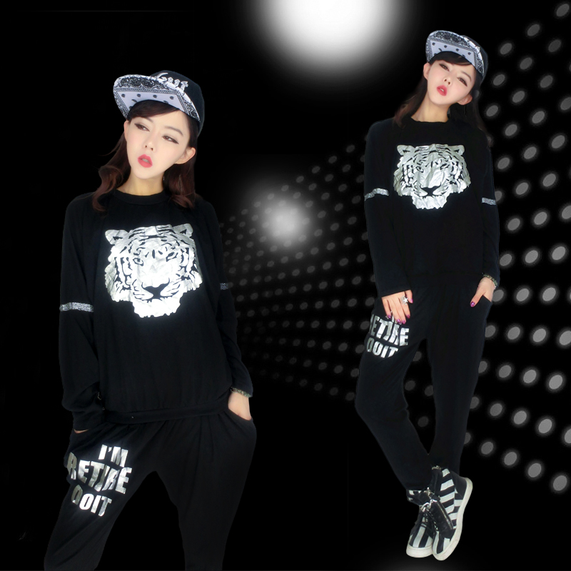 Get Quotations · Jazz dance costumes jazz hip-hop clothing hip hop hiphop  laugh harem pants 100ä¸ f5e73b7419