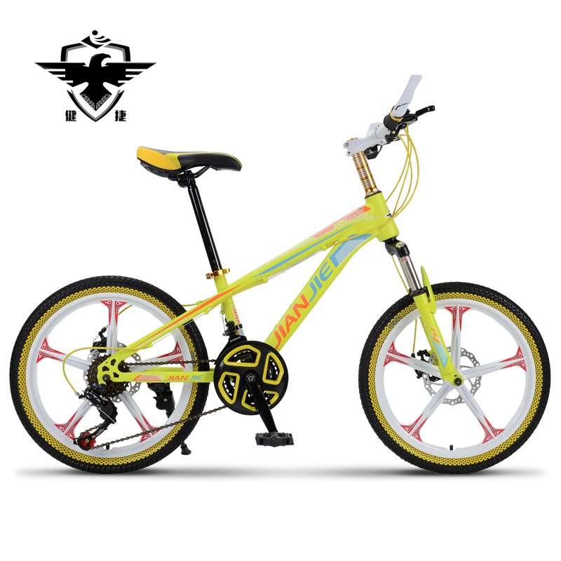 Jian jie 20 magnesium alloy 26-inch mountain bike one wheel bike children bicycle 21 speed shifting student car