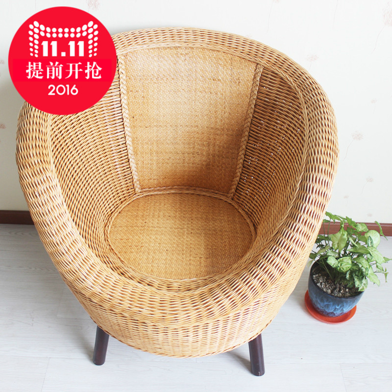 Jiangnan yiyuan rattan living room furniture balcony casual wicker chair wicker chair balcony casual wicker chair