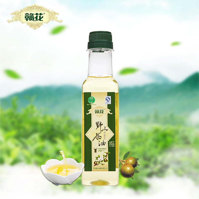 Jiangxi 260ml125 ml physical squeeze a wild camellia tea seed oil small bottles of preferential loading non transgenic healthy cooking oil