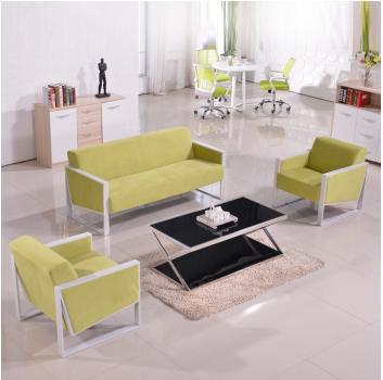 Jiangxi kang boss office furniture office sofa modern minimalist fashion sofa fabric sofa sofa simple conference