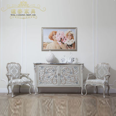Jiantai euclidian italian style carved wood entrance cabinet minimalist shoe custom furniture sales offices
