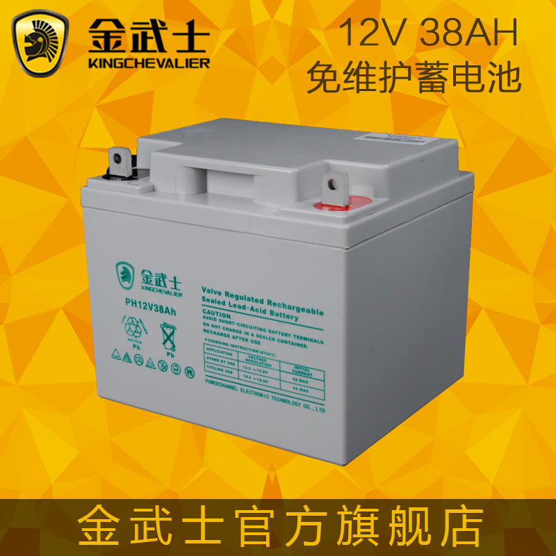 Jin wushi 12v38ah maintenance-free battery ups battery lead acid battery access control security warranty for three years