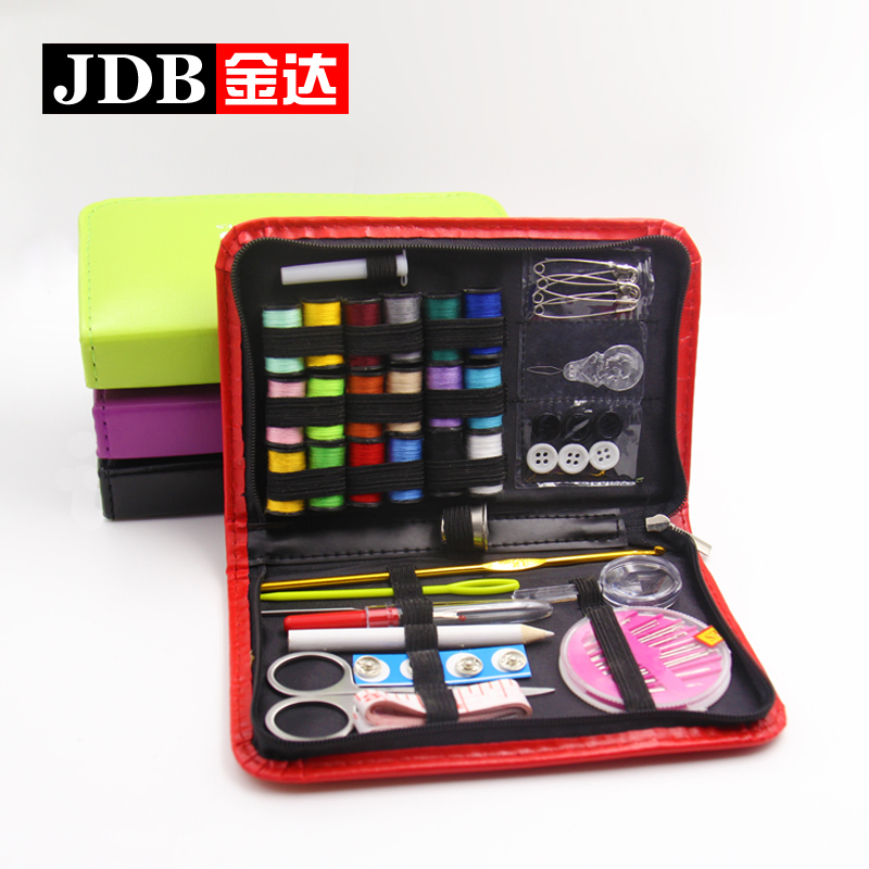 Jinda korean stylish and convenient travel sewing kit sewing kit mend stitch sewing kit sewing box