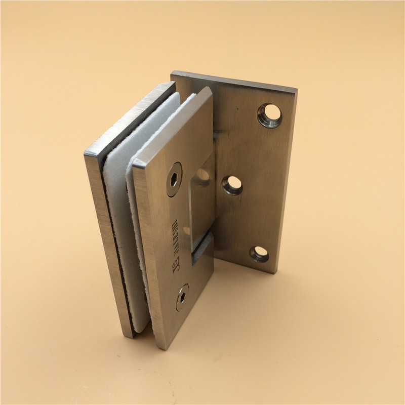 JLS90 unilateral stainless steel glass hinge glass door hinge glass shower hinge spring hinge spring