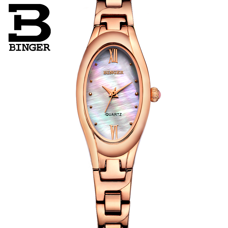 Jordan chan endorsement binger accusative steel watches ladies quartz watch fashion female form thin fiber ya whole rose gold flat