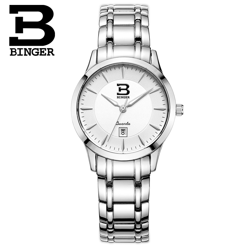 Jordan chan endorsement binger accusative watches fashion female form thin quartz watch waterproof business watches thin ink