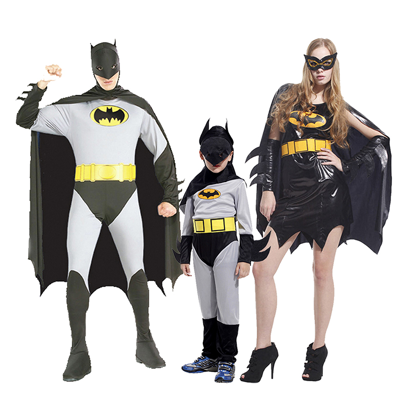 Joy party halloween costume masquerade party cosplay costumes batman costume paternity
