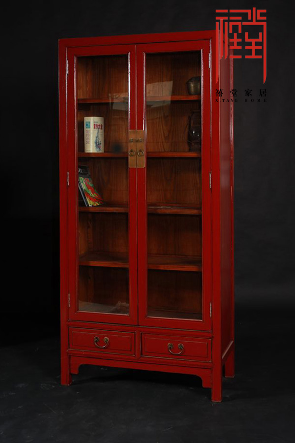 Jubilee hall old material original design handmade retro furniture furniture furniture library furniture bookcase bookcase bookshelf cabinet