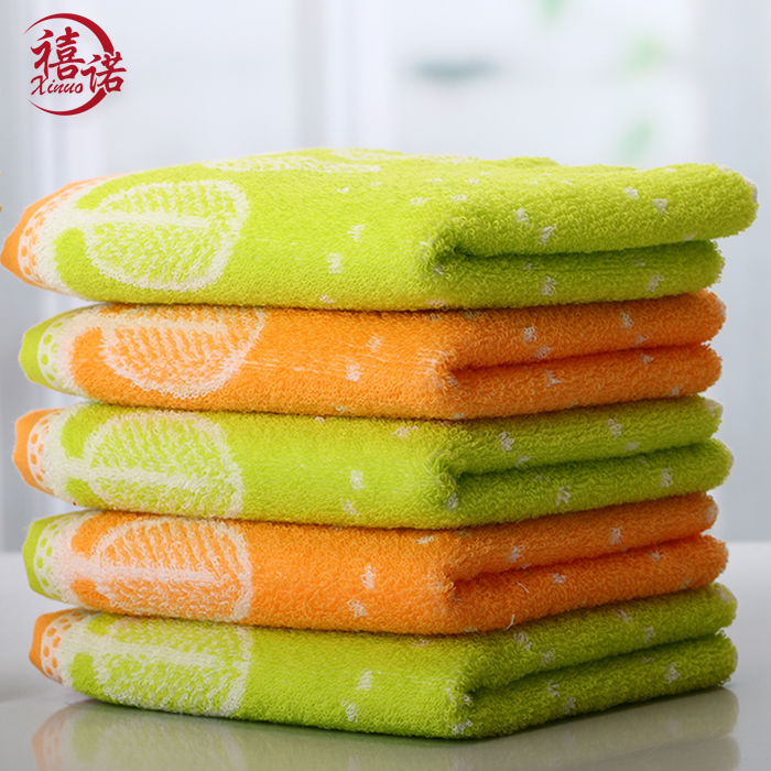 Jubilee promise candy colored cotton towel children towel washcloth adult happy tree creative personality shipping
