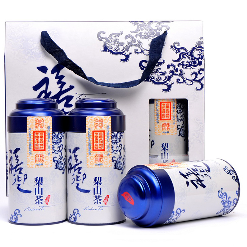 Jubilee welcome taiwan lishan lishan high cold tea tea mountain tea taiwan oolong tea gift box 3 cans of 450 grams