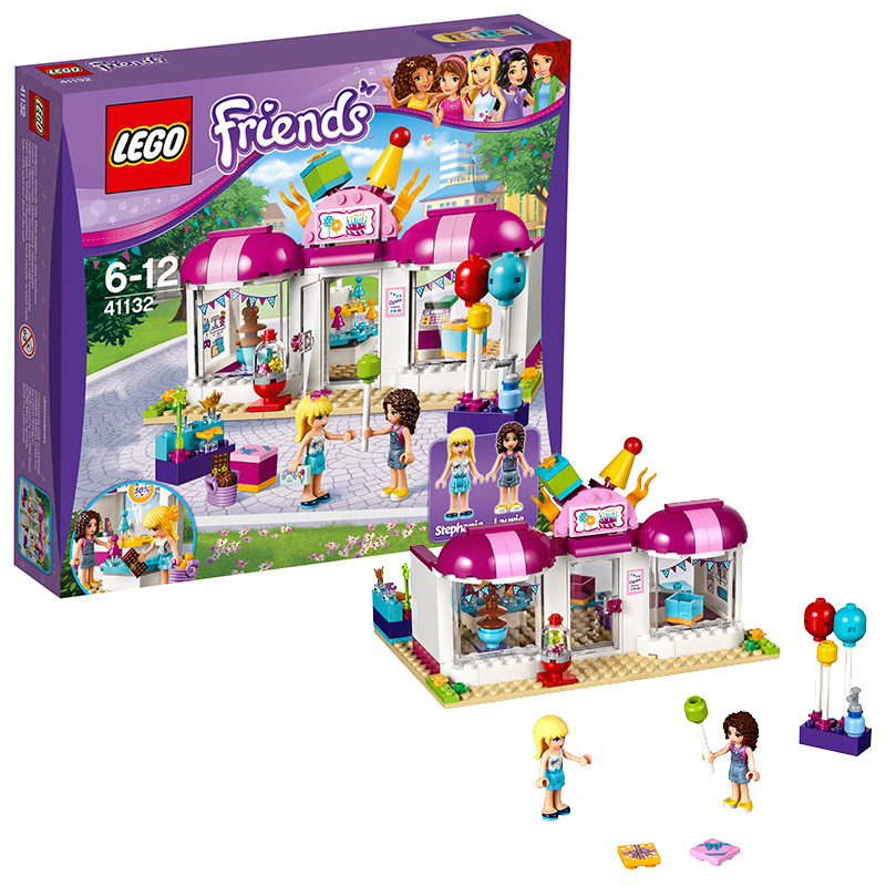 July new lego friend series 41132 heart lake city building blocks of lego friends party gift shop