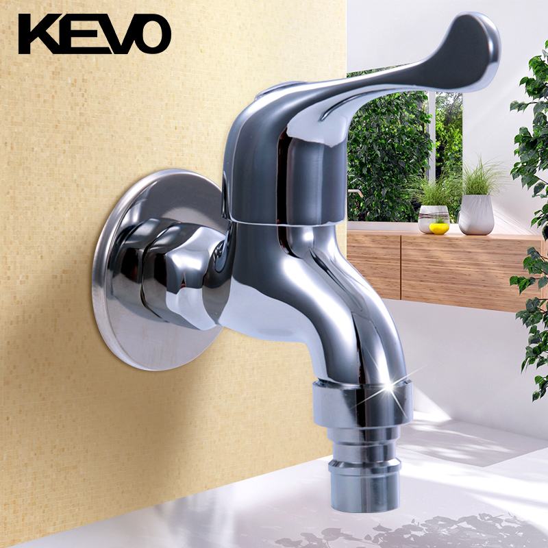 Kai waugh bathroom ordinary fast open faucet single cold all copper body 4 points faucet washer QW06344
