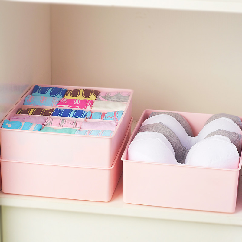 Kangfeng shipping three sets of underwear storage box creative storage box covered socks underwear box box box bra underwear box storage