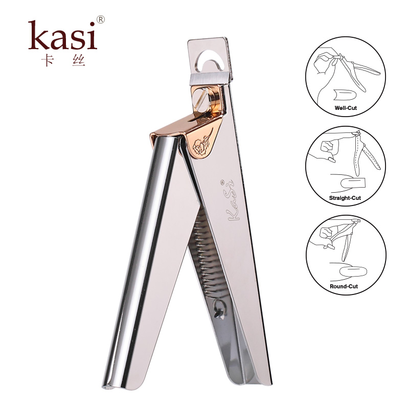 Kasi nail scissors word u shape nail clippers scissors cut a piece of crystal a phototherapy a prolonged repair scissors nail tools