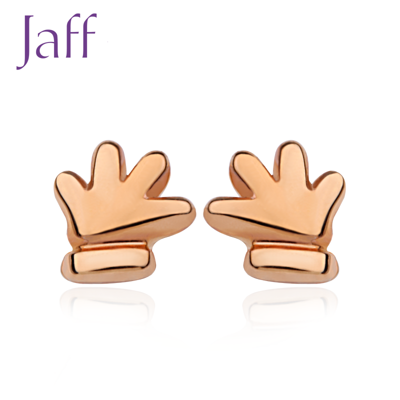 Katsuo jaff KED712 k gold earrings female models earrings jewelry earrings series national mail