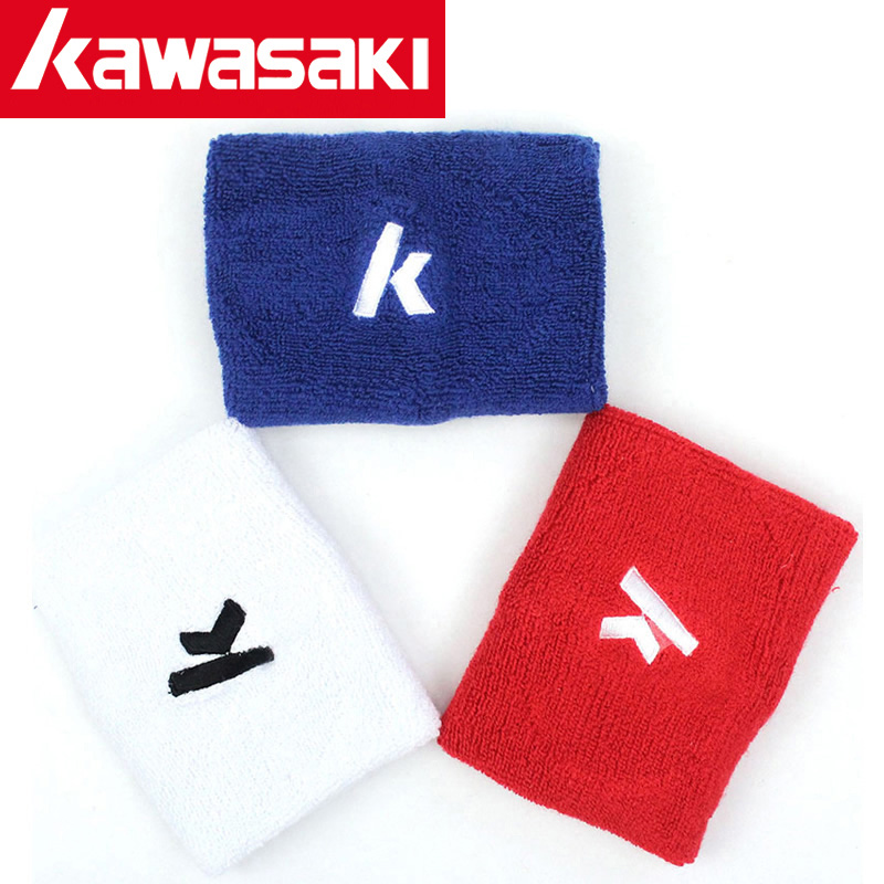 Kawasaki badminton basketball wrist sweat running with gym shipped move warm cotton towel to wipe the sweat of men and women