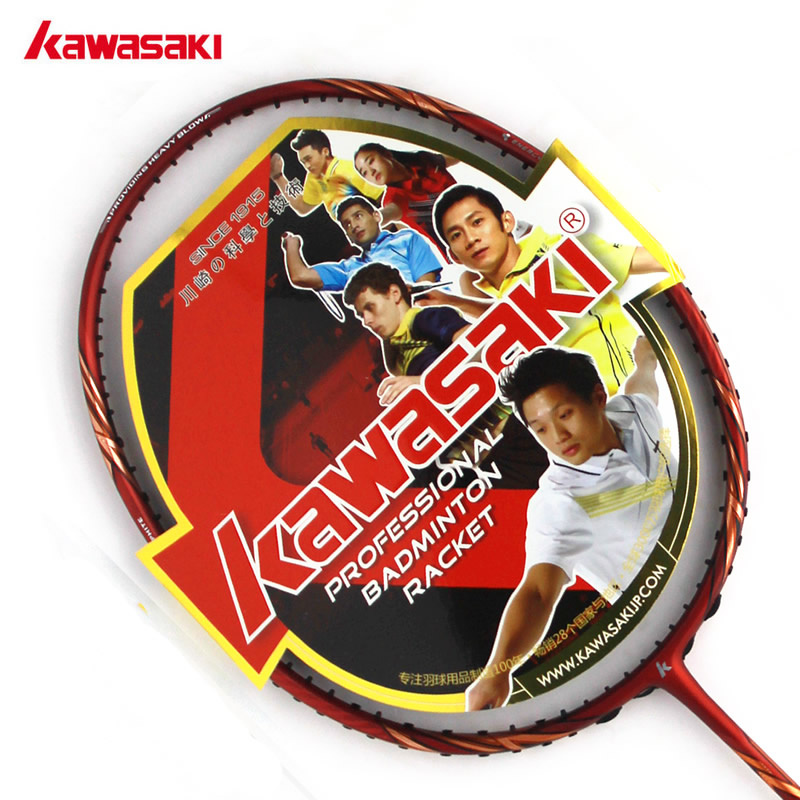 Kawasaki kawasaki genuine badminton racket wolf wolf 90 star line to send hand gel free shipping