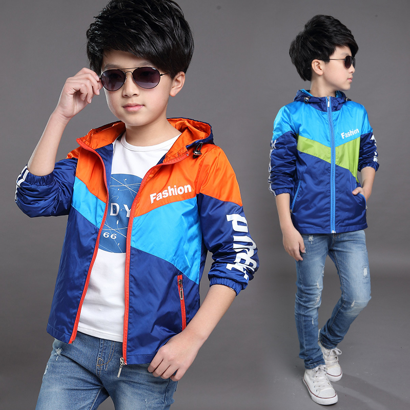 741d59cdd370 Get Quotations · Kids 6 boys 7 spring and autumn coat 2016 12 years of the  new 9 korean