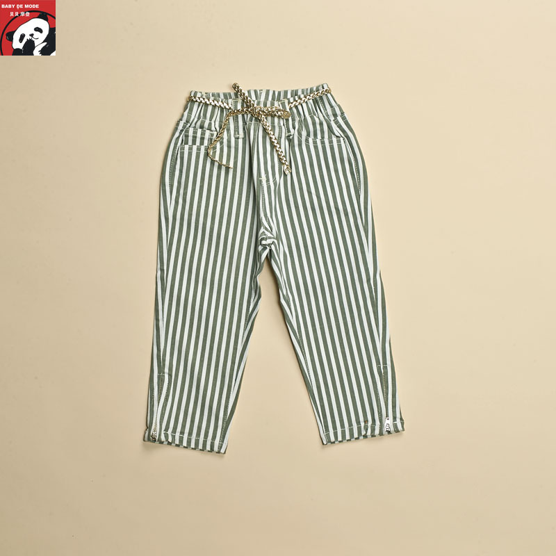 Kids spring and autumn spring and summer campaign targeting [babe modern authentic] female pant