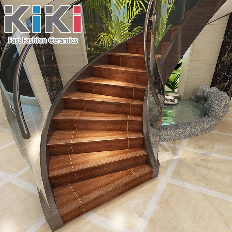 Get Quotations · Kiki Tile Brick Stairs Wood Stairs Ladder Stair Stepping  Brick Brick Brick Slip Resistant Floor Tiles
