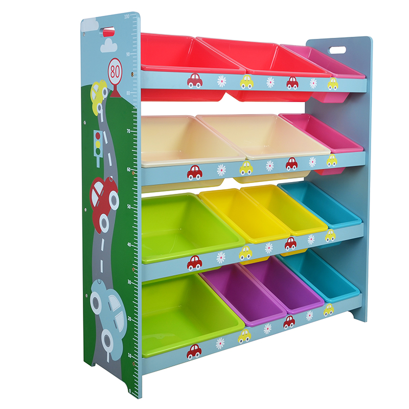 Kindergarten children's toys toy shelf storage rack storage rack large capacity storage rack baby toys finishing rack