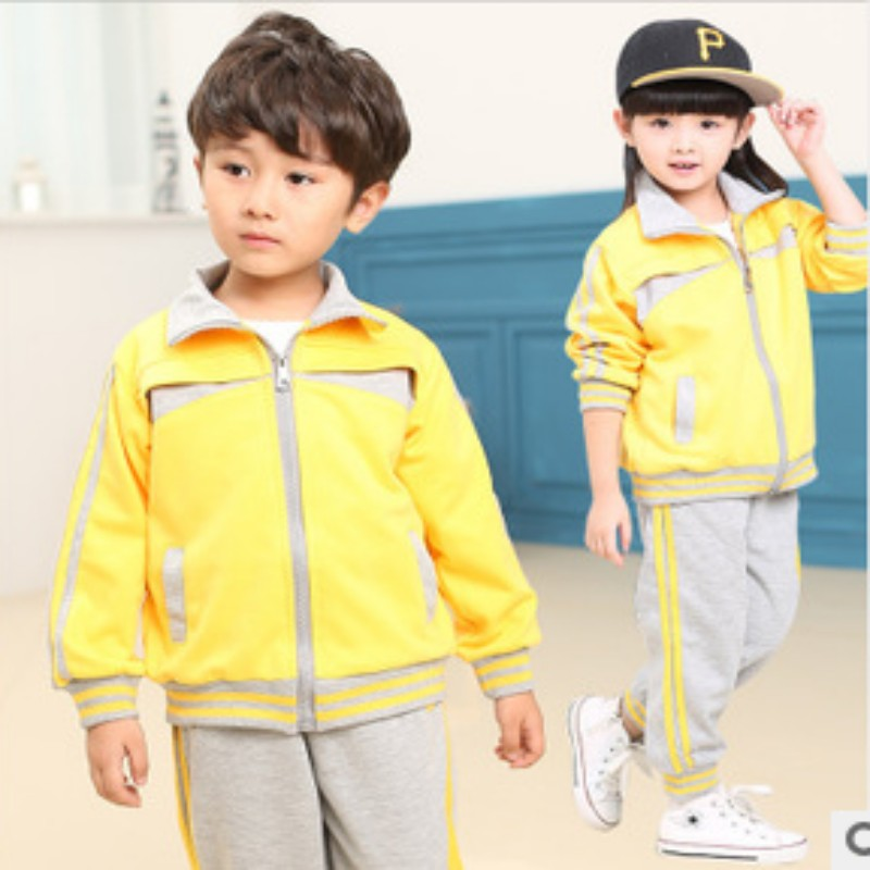 Kindergarten students dress uniforms spring and winter new national day of primary and secondary school uniforms costumes student uniforms class service