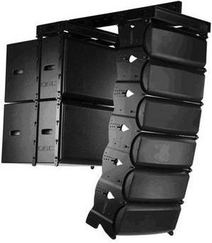 Kingaudio/huang sound l12 (8 + 2) line array sound dual 12 inch professional performance stage speaker Kit