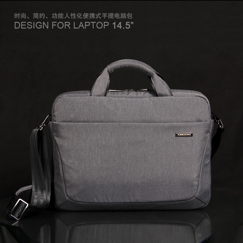 Kingsons laptop bag 14/13 inch laptop shoulder bag men and women laptop bag