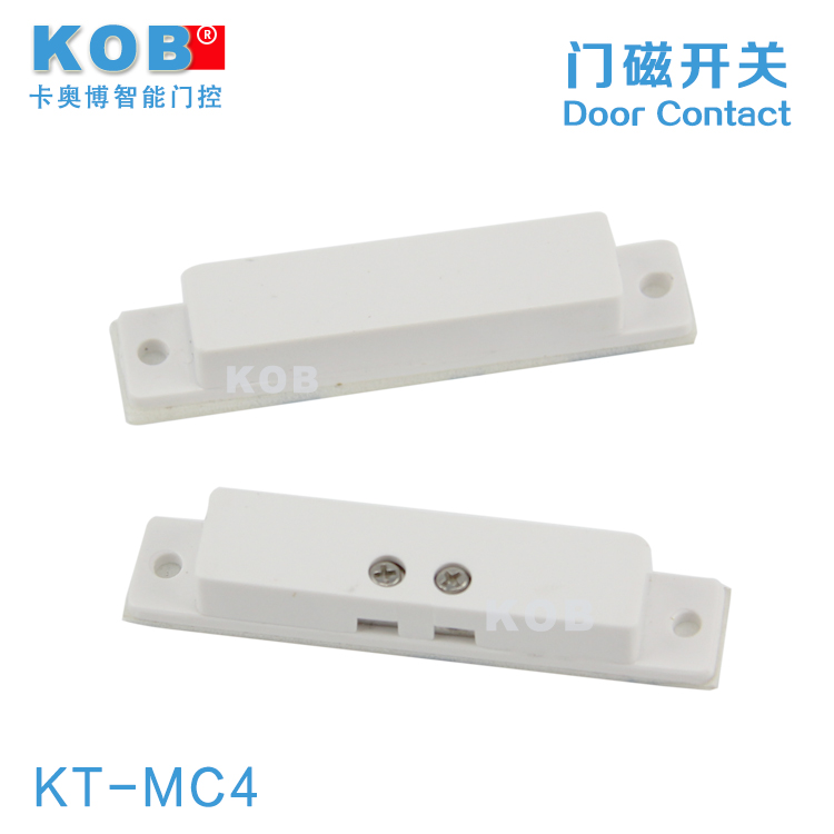 Kob brand/wired door sensor/magnetic switch/one pair of magnetic switch/ignition lock fireproof abs shell