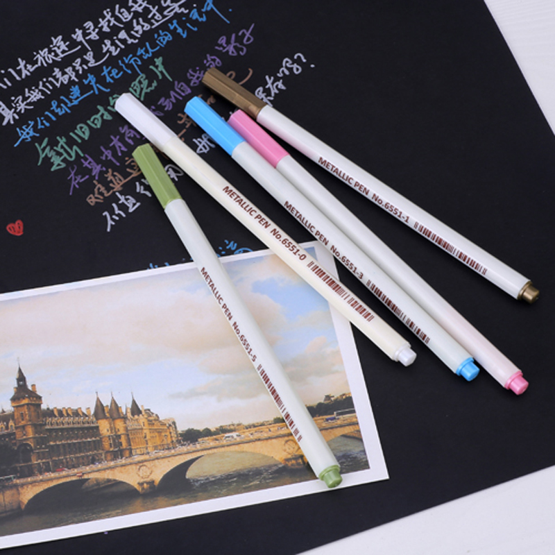 Korea handmade diy album album tool accessories homemade black card material album photo album dedicated pen creative pen metal pen