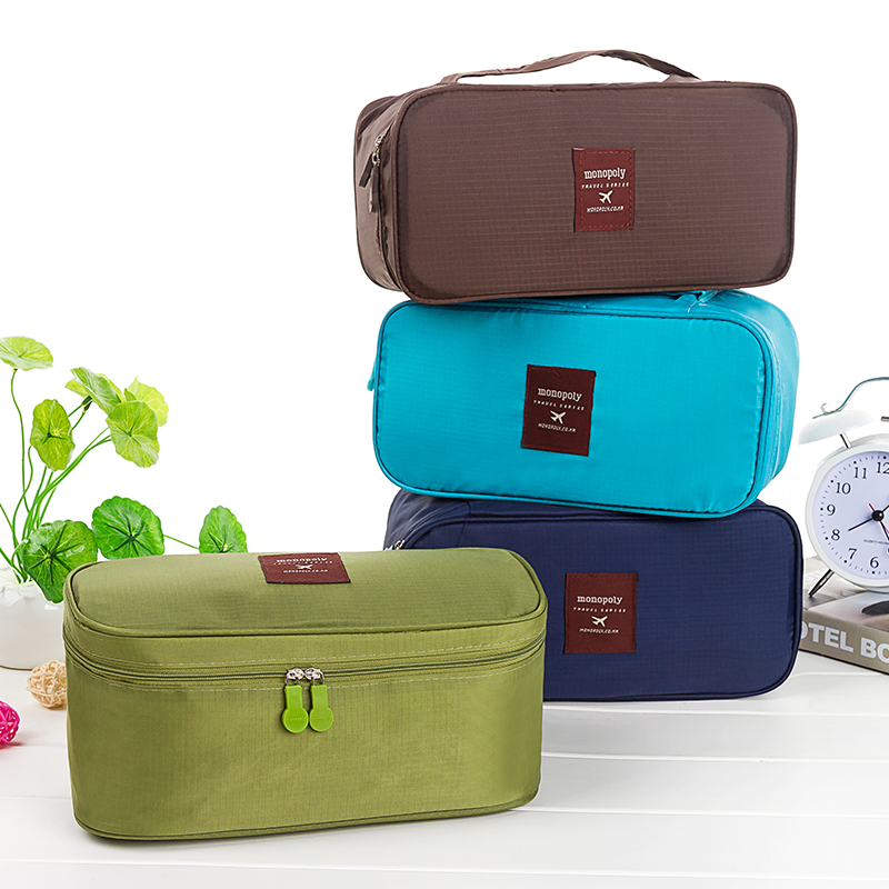 Korea multifunction bra underwear storage bag travel travel waterproof folding storage bag women wash bag free shipping
