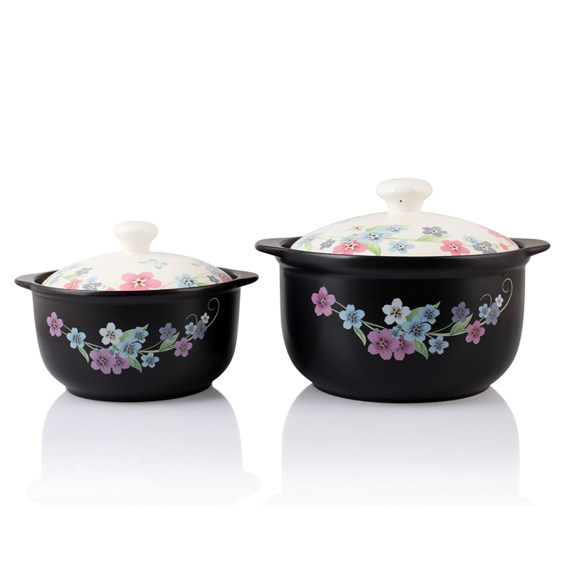 Korean ceramic casserole stew pot casserole claypot soup pot of porridge health flame temperature ceramic pot stew pot cookware