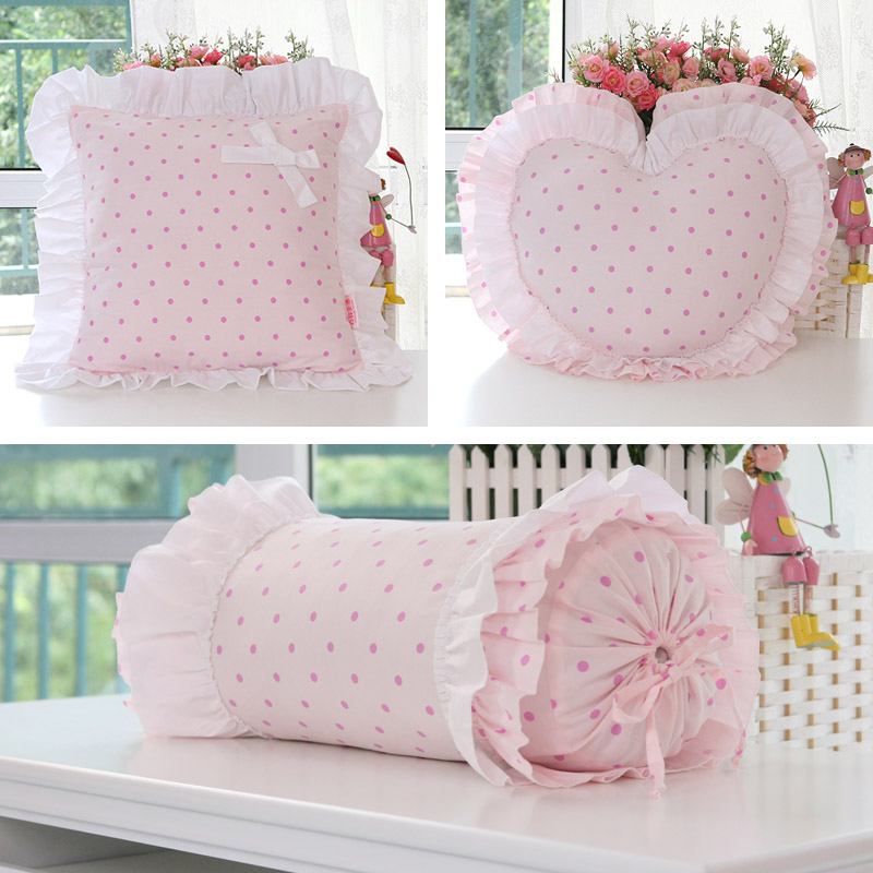 Korean princess cute candy pillow square pillow love pillow pillow nap pillow pashui home washable cotton