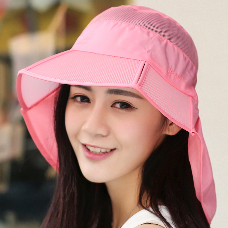 Korean version of the influx of ms. summer sun visor hat ms. collapsible sun hat beach hat sun hat outdoor tourism