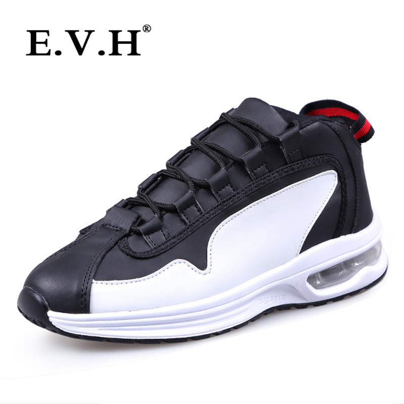 Korean version of the new men's wear EVH2016 spell color fashion sports shoes lace casual shoes tide male wild 3493