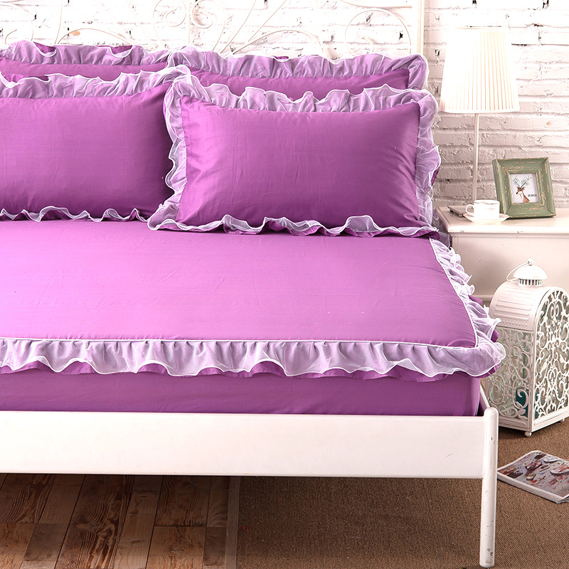Korean version of the single piece of cotton bed li simmons mattress protector cotton bedspread single or double slip 1.8/1.5 m