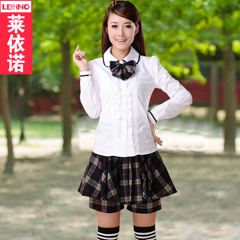 Korean version of the suit england college school students loaded class service uniforms girls school uniforms japanese sailor suit school uniform