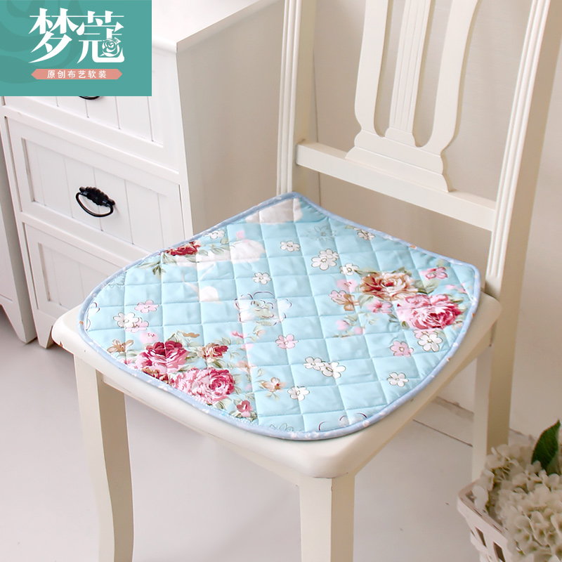 Kou dream home quilted chair dining chair cushion thick cushion pad dust pad