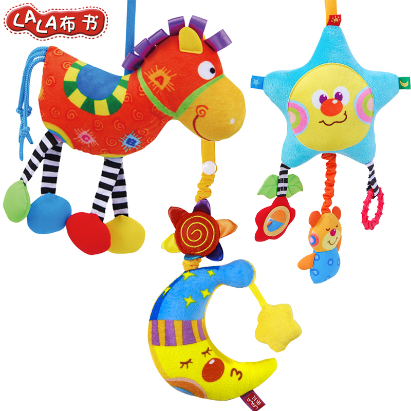 La labu book baby toys baby bedside bell hanging bed bell bed hang newborn 0-1 years old newborn toys