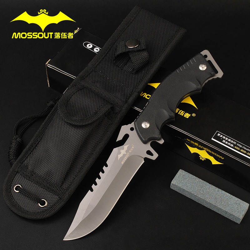 Laggards outdoor tactical high hardness carry knives outdoor knife straight knife outdoor survival knife defense