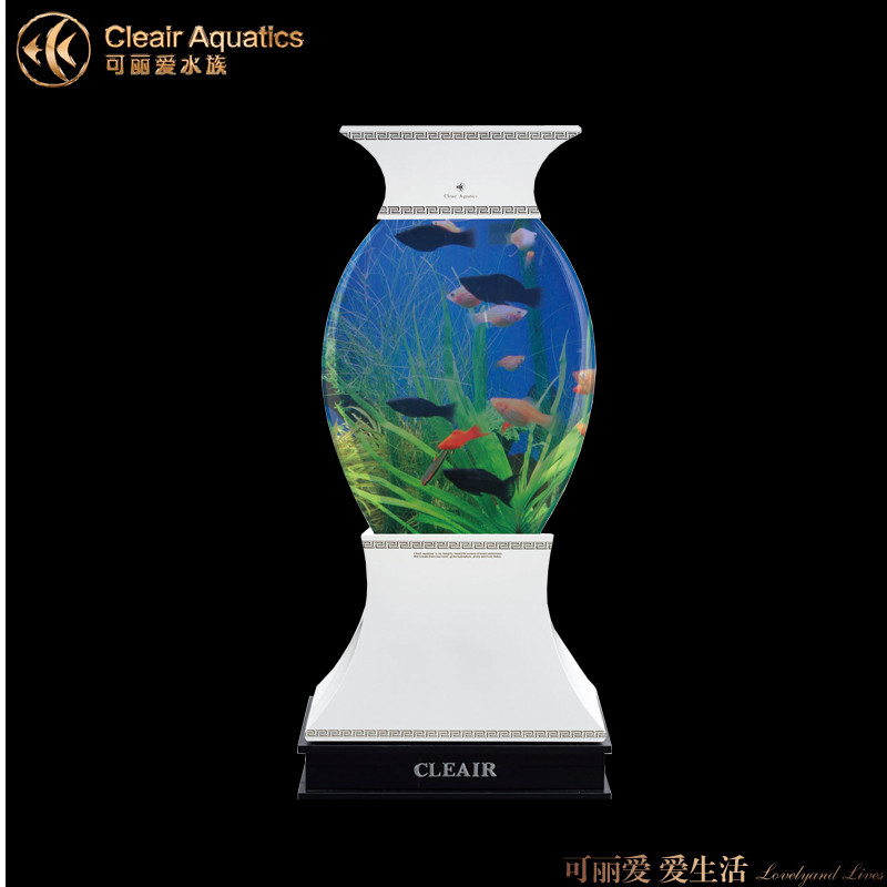 Lai love cleair acrylic aquarium fish tank aquarium fish tank vase verticle LS-H shipping