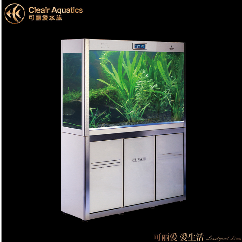 Lai love cleair aquarium fish tank glass aquarium fish tank appreciation series bg shipping