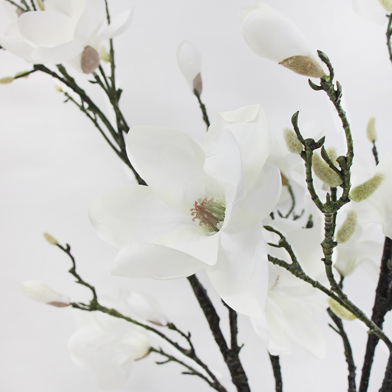 China white flower oil china white flower oil shopping guide at get quotations lamome simulation flower artificial flowerchinese landing place big magnolia branches white flowersliving mightylinksfo