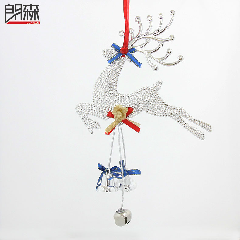 Lang sen christmas deer christmas deer christmas ornaments christmas decorations christmas pendant decorated christmas tree decorations