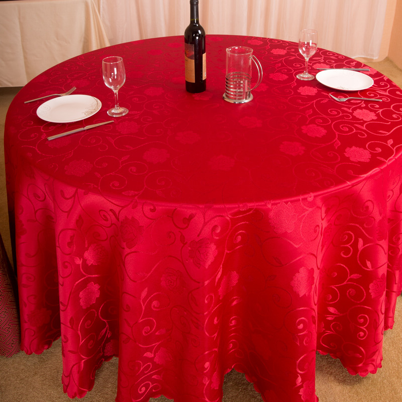 Language poetry dan hotel great circle jacquard tablecloth tablecloth hotel tablecloth restaurant tablecloth home