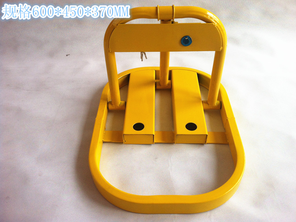 Large 0 type manual parking lock parking lock to lock road pile to pile lock parking lot traffic facilities
