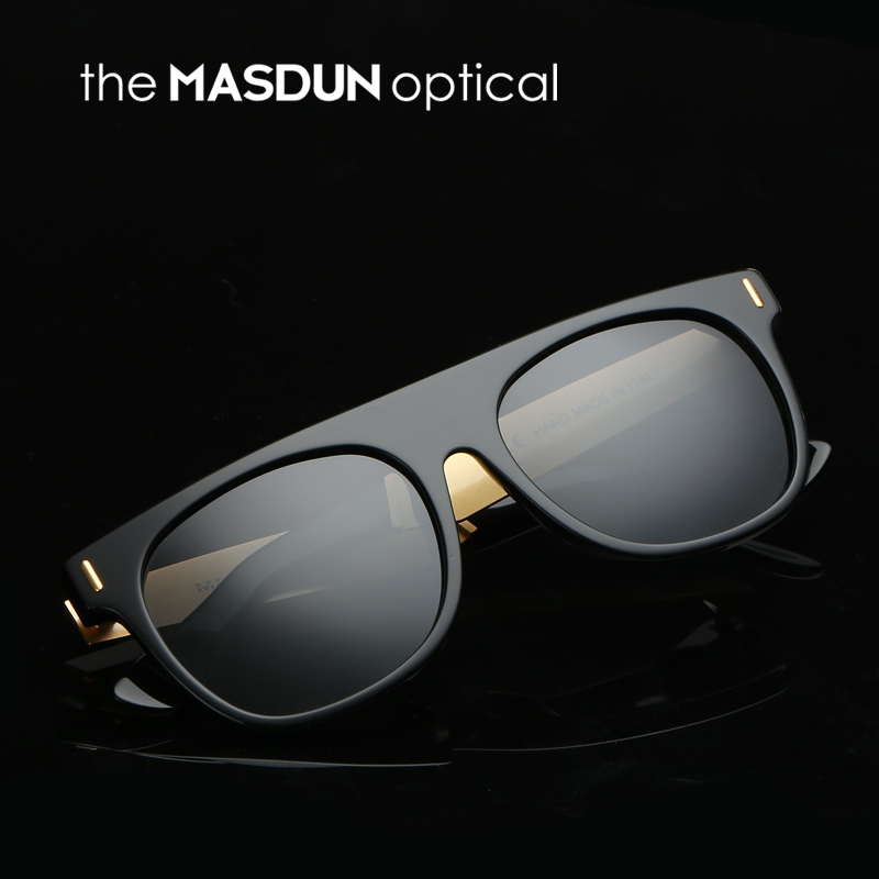 874ad68373 Get Quotations · Large influx of men face big black box retro sunglasses  polarized sunglasses driving myopia sunglasses sun