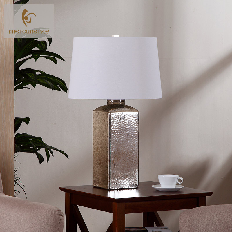 Large living room with decorative glass lamp nordic american creative retro minimalist fashion cozy bedroom bedside lamp
